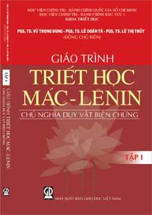 Giáo trình triết học Mac - Lenin