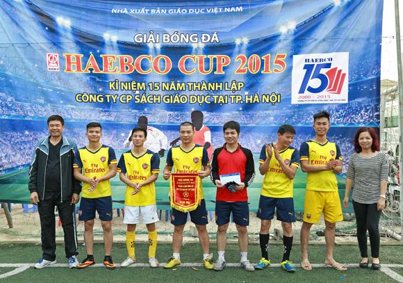 Giải bóng đá Haebco Cup 2015 - Chào mừng kỷ niệm 15 năm thành lập Công ty
