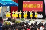 """Thầy trò trường tiểu học Yên Hoà tưng bừng hưởng ứng """"Ngày hội đọc sách Việt Nam"""""""